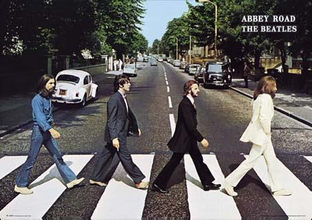 Capa do álbum Abbey Road, dos Beatles